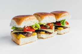 Cheeseburger Sliders - by Al Brown
