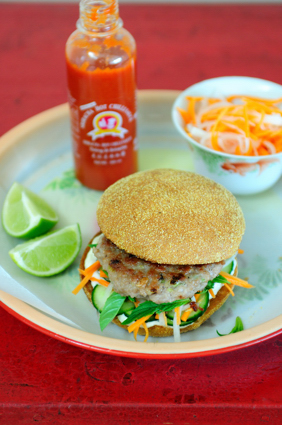 Vietnamese Pork Burger