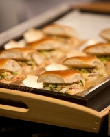 Turbot Sliders with Creamy Slaw - by Al Brown