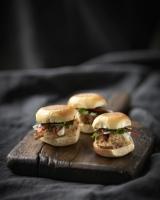Chicken Satay Sliders
