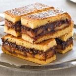 Banana, chocolate & hazelnut ganache brioche toastie