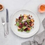 Crispy Duck Salad with Ciabatta Croutons and Glazed Beetroot - My Food Bag