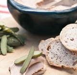 Liver parfait with pickles & sourdough